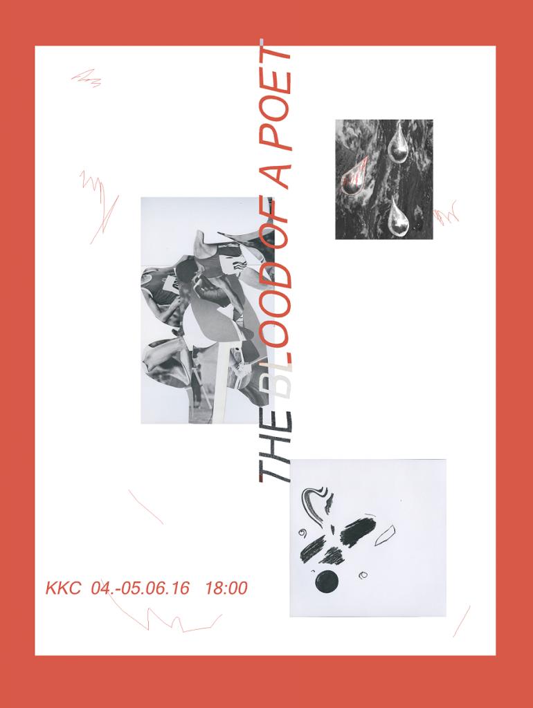 Dzejnieka asinis 2016 plakats