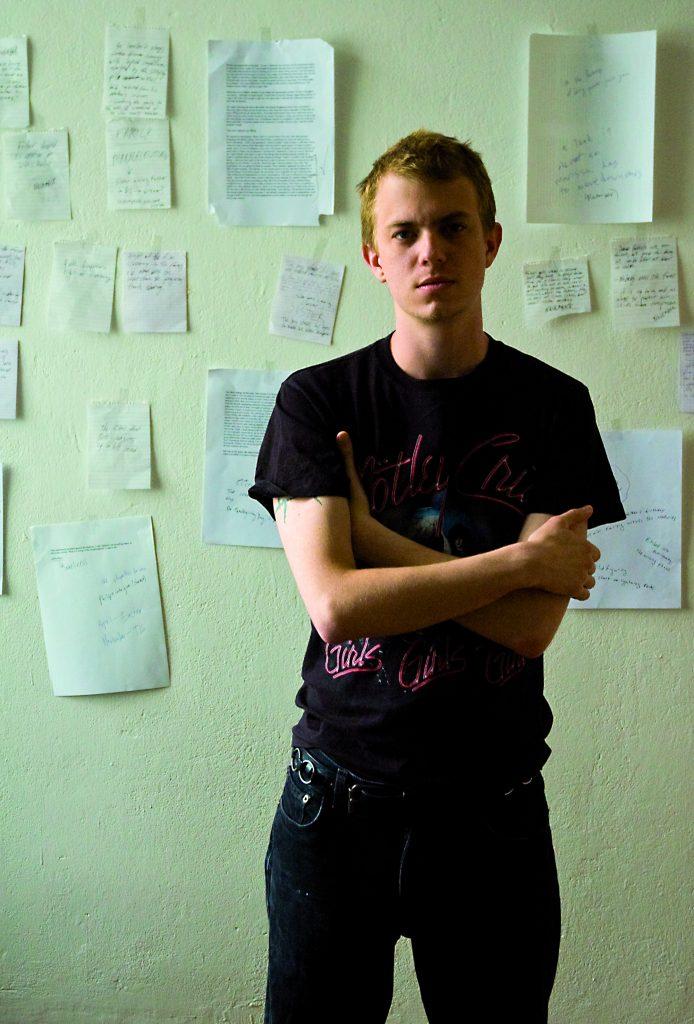 Travis Jeppesen - Portrait