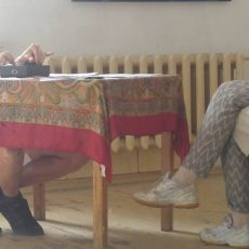 "D27 aicina uz Andreja Strokina un Agneses Krivades izstādi/performanci ""TU"""
