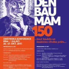 """Notiks Eduardam Veidenbaumam veltīta konference """"…kaut šaubās un šaubīsies cilvēka prāts.."""""""