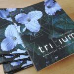 """Izdots trīs lībiešu dzejnieku kopkrājums """"Trillium"""""""