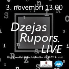 Dzejas Rupors. LIVE